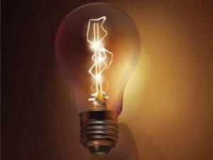 گاز در لامپ های رشته دار